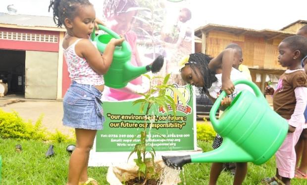 Going little hands for a greener Uganda