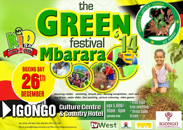 Green Festival Western Edition (Mbarara 26th December 2014)