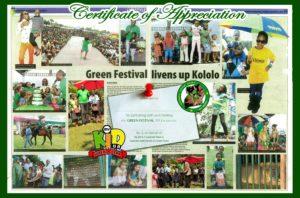 the 2013 Green Festival Uganda
