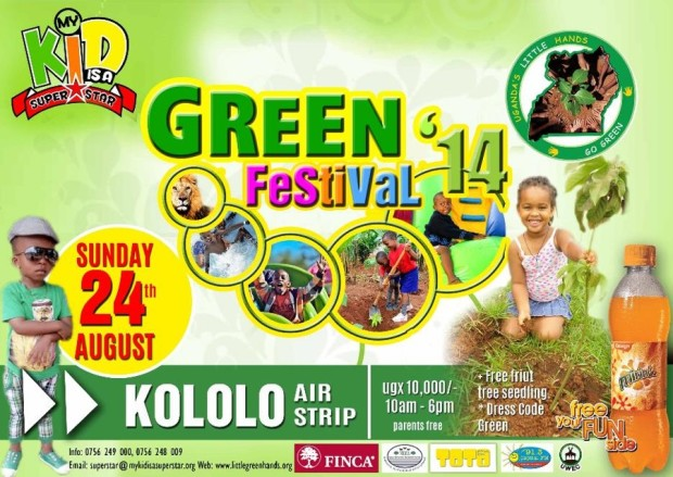 GREEN FESTIVAL 2014 is knocking at your door step!!