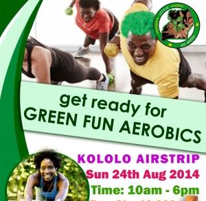 green aerobics kololo