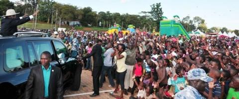 UGANDA'S LITTLE HANDS ON VOA