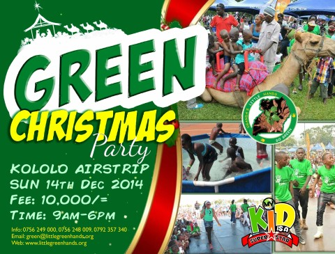 The Superstar Green Xmas is back!!!