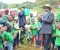 President Museveni's Love for children & the environment