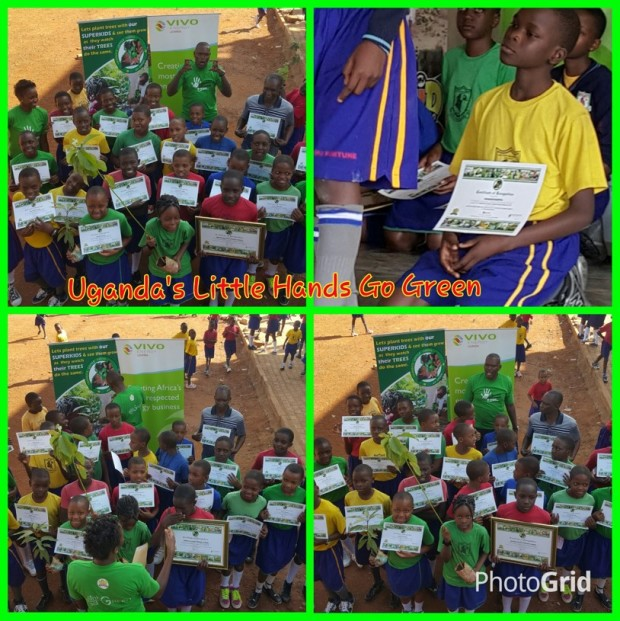 Mother Majeri Primary school lights up our World Environment Day 2015