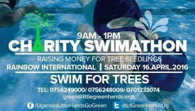 Swim To Save Trees With Uganda's Little Hands Go Green