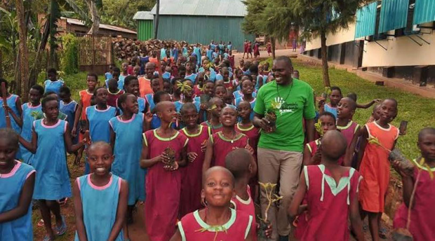 Uganda's Little Hands Go Green, Nema Tie Up World Environment Day Partnership