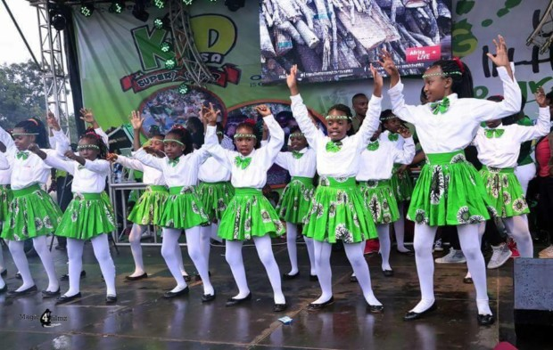Love for Environment lights up Kololo as Children from all over throng the Green Festival 2017