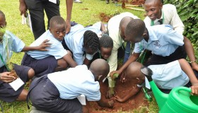 Uganda's Little Hands Go Green, Nema Tie Up World Environment Day Partnership